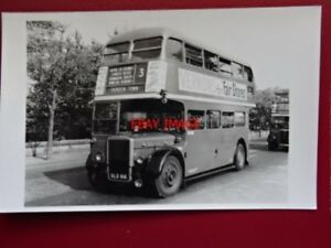 PHOTO-LONDON-TRANSPORT-BUS-NO-RTL-1507-ON-ROUTE-NO-3