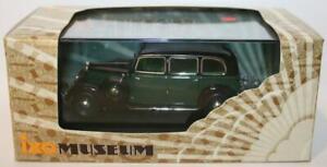 IXO-escala-1-43-MUS025-Mercedes-Benz-260D-W138-1936-Verde-Negro
