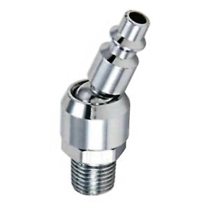 1-4-034-NPT-Male-Swivel-Quick-Connect-Plug-For-Air-Tools