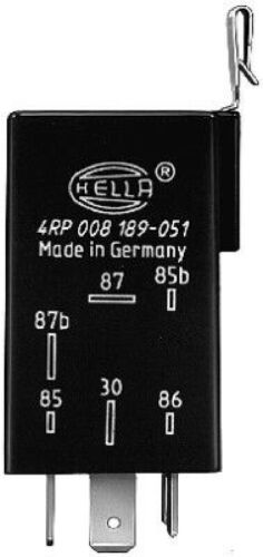 HELLA Relais Kraftstoffpumpe Kraftstoffpumpemrelais Benzinpumpe 4RP 008 189-051