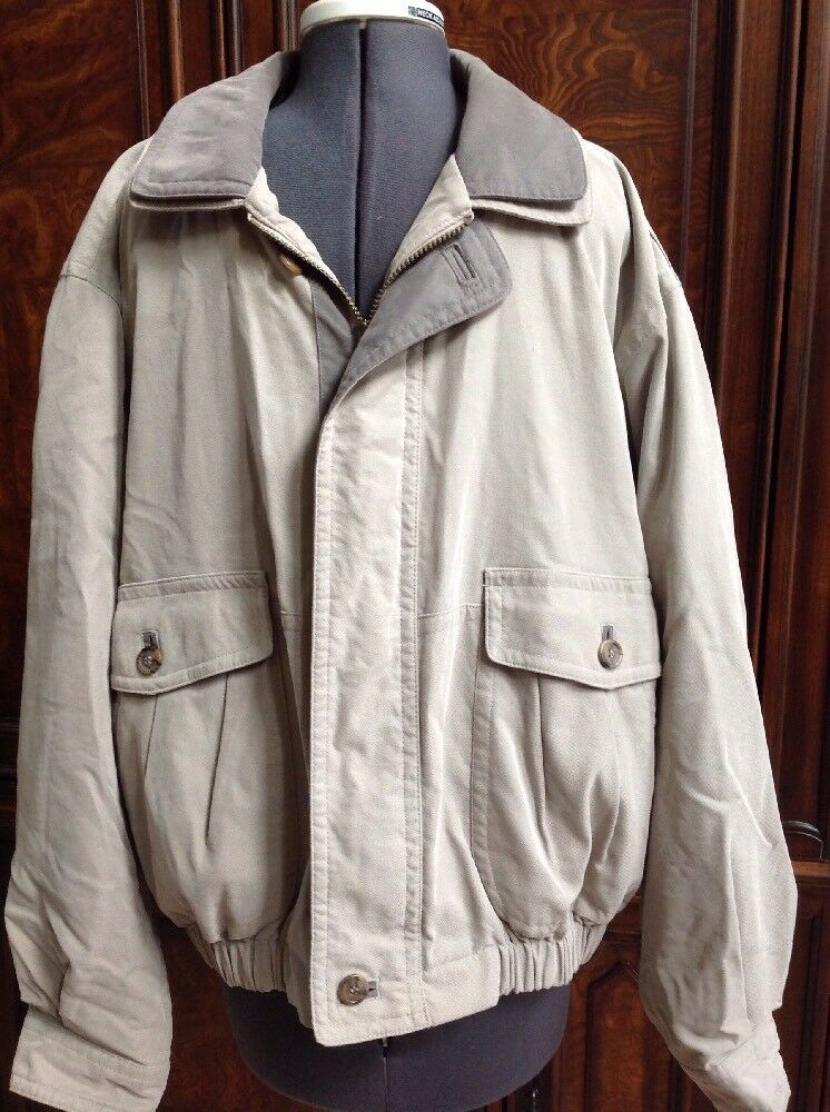 Men's Roundtree & Yorke Insulated Coat - Removable Insulated liner - Size Large