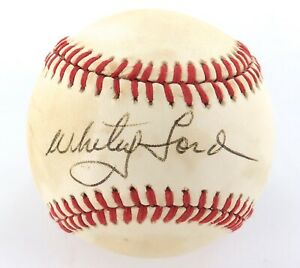 WHITEY-FORD-HOF-HAND-SIGNED-AUTOGRAPHED-RAWLINGS-RO-A-BASEBALL-100-GENUINE