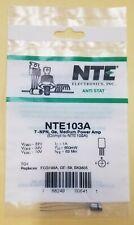 New Nte103a Npn Germanium Transistor Audio Medium Power Amp