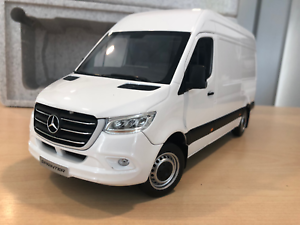 97042d316c3 Mercedes-Benz 2018 Sprinter WDB907 1 18 Scale Model White (BNIB)