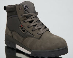 Details about Fila Grunge Mid New Men High Top Sneakers Castlerock  Lifestyle Shoes 1010107-6XW