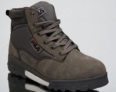 Fila Grunge Mid New Men High Top Sneakers Castlerock Lifestyle Shoes 1010107 6XW | eBay
