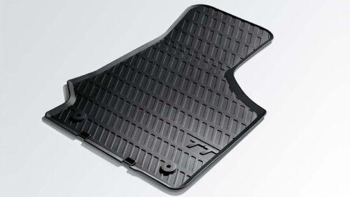 8J1061501A 041 Original Audi Gummi Fußmatten Set vorn schwarz Audi TT 8J