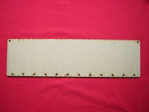 LASER CUT MDF 360mm x 100mm 4 BIRTHDAY PLAQUES /& LETTERS 36cm x 10cm