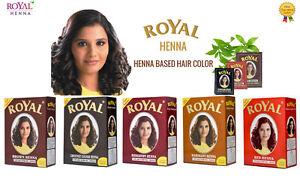 Royal henna hair dye