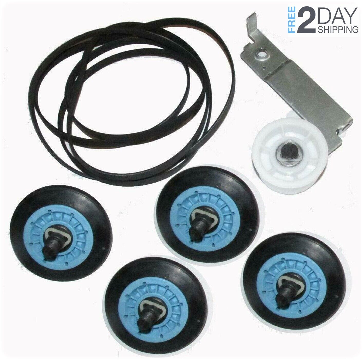 Clothes Dryer Repair Maintenance Kit For Maytag MDE9700AYW