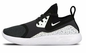 a485d97bd0e3 NIKE LUNARCHARGE PREMIUM LE 923284-999 Black White Multi-Color Men s ...