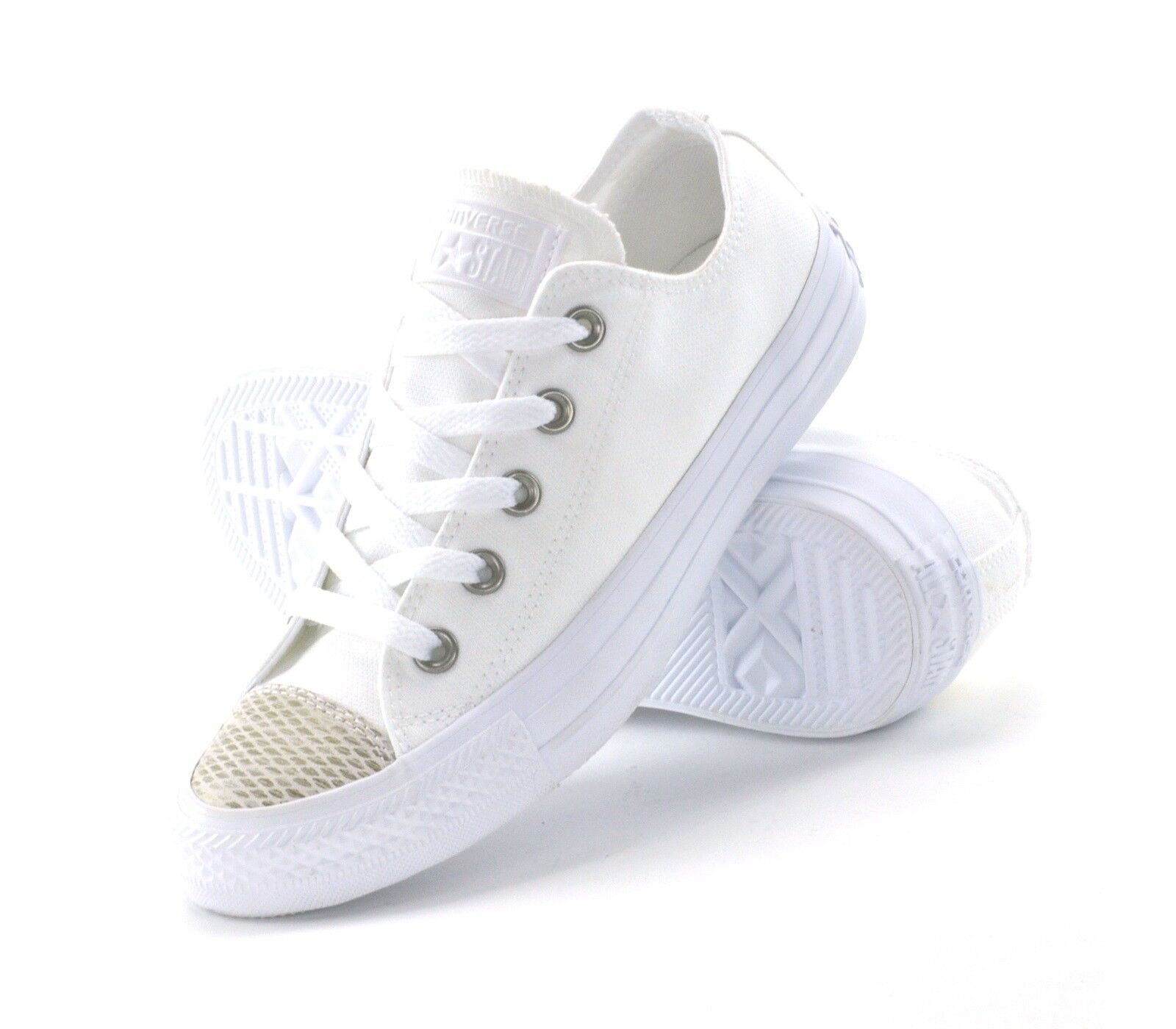 CONVERSE CT AS PRINTED TOE OX  - damen Turnschuhe - 557985C - Weiß - BRAND NEW