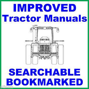 Details about Ford New Holland TJ280 TJ330 TJ380 TJ430 TJ480 TJ530 Tractor  Service Manual CD