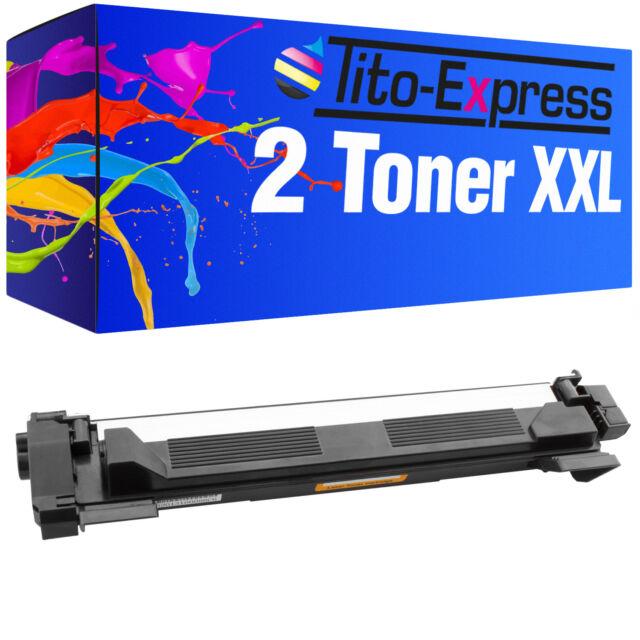 2x tóner ProSerie para Brother tn-1050 dcp1510 dcp1510e dcp1512 dcp1512a dcp1512e