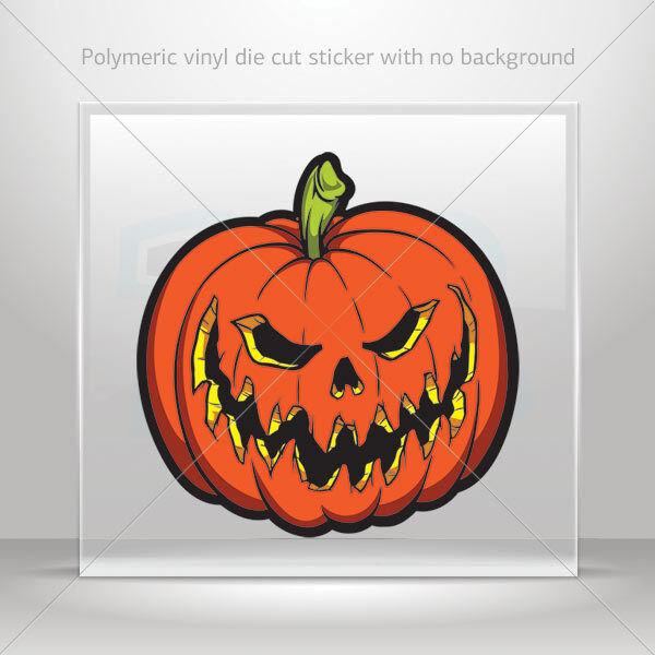 Stickers Sticker evil scary pumpkin Halloween Car Atv Bike vinyl bike st7 26629