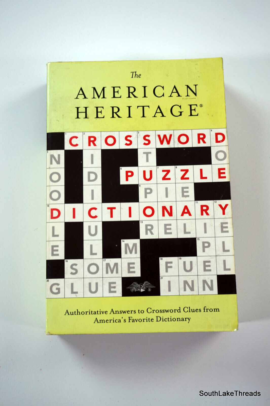 The American Heritage Crossword Puzzle Dictionary 20, Trade ...