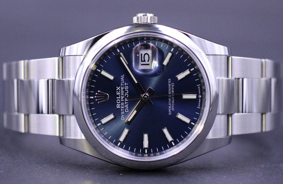 Rolex Datejust 36 126200 - Komplet sæt 2020 NEW
