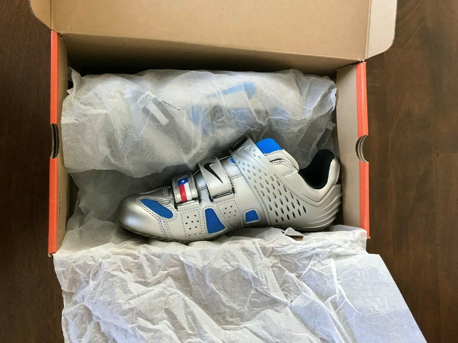 fa87cf3838d4b0 Buy Ultra RARE Nike Lance Limited Edition Road Cycling Shoes Men s 41 Med  US Size 8 online