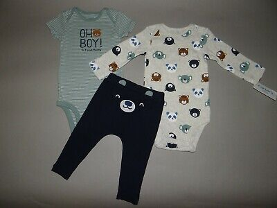 Nwt Baby Boy 18 Months Carter S 3 Piece Set New Arrival See Details On Size Ebay