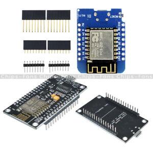 Mini WeMos D1 NodeMcu Lua CH340G ESP8266 ESP-12E WIFI Network Development Board
