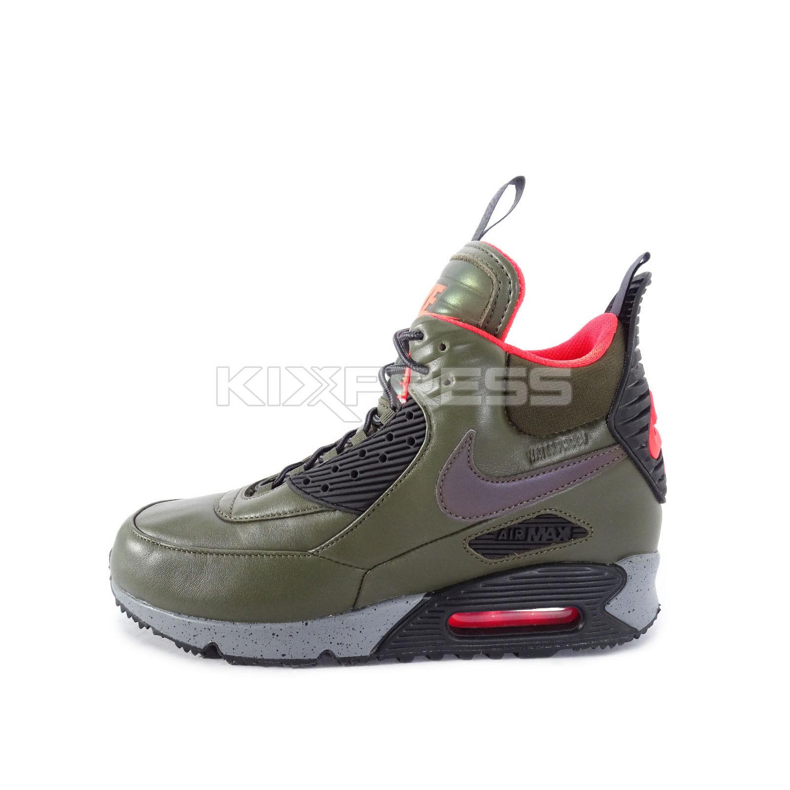 51e6d28470 Nike Air Max 90 Sneakerboot Winter [684714-300] NSW Casual Dark Loden/