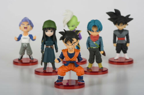 6pcs//set Dragon Ball Z WCF Super Saiyan Vol.6 Figures Anime PVC Model Toy