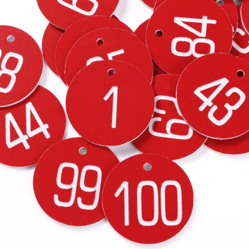 1-200 Engraved 30mm Discs Wedding Table Numbers Locker Pub Restaurants Catering