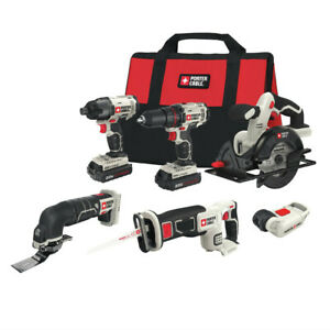 Porter-Cable 20V 6-Tool Combo Kit PCCK6116R Recon