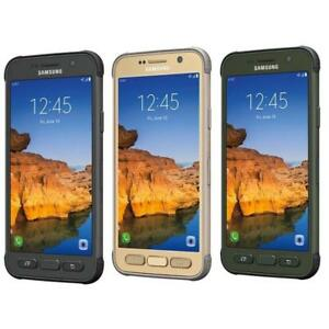 Samsung-Galaxy-S7-Active-GSM-UNLOCKED-AT-amp-T-T-Mobile-Gold-Grey-Green