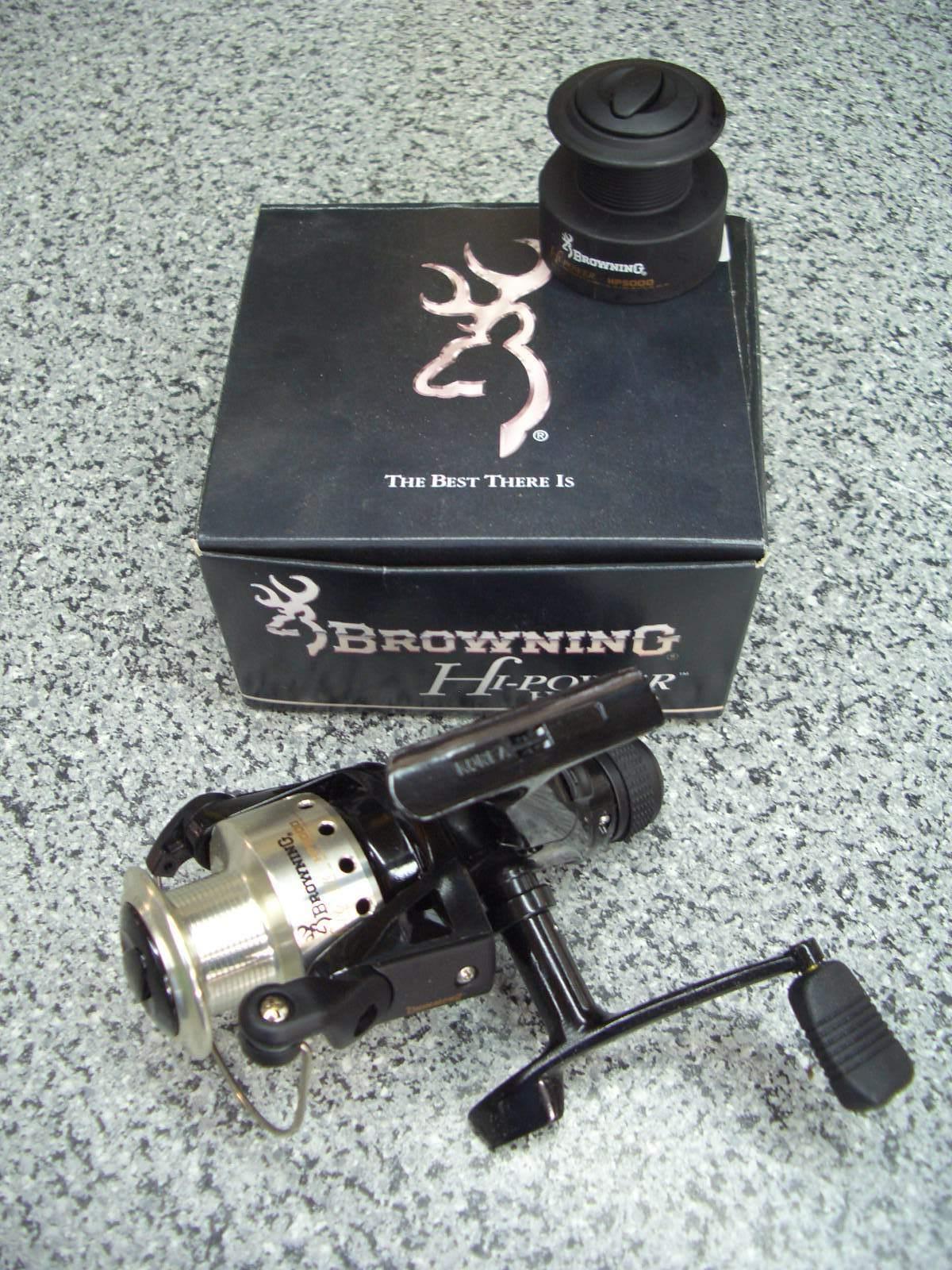 Brauning Rolle Angelrolle Hi-Power HP 5000, neu, ovp Stationärrolle