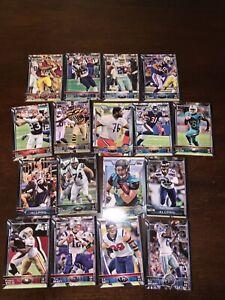2015 Topps NFL Football Trading Cards Lot Of 17 Watt Brady Gronk Bryant Thomas
