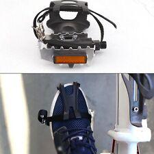 Radsport Straße Mountainbike Fahrrad MTB Pedal Zeh Strap Riemen Werkzeuge new