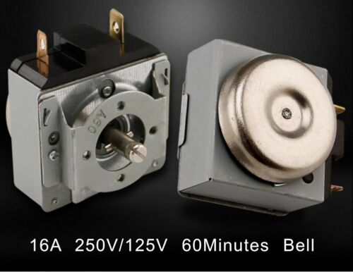60 Minutes Time Delaying  Electric Oven  Microwave Oven Timer Switch Bell