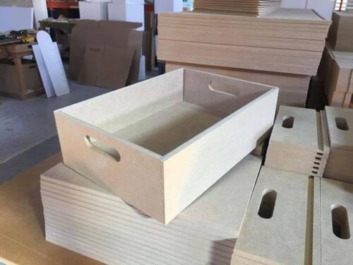 Bandeja//cajón de madera de calidad Premium