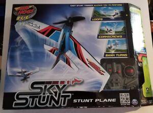 Details about Air Hogs RC Sky Stunt Stunt Plane-NIB-Free Shipping-Radio  Controlled Plane