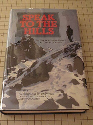 Speak to the Hills: An Anthology Paperback Book The Fast Free Shipping