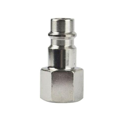 "Galvanized iron Quick Connector Euro Release 1//4/"" BSP Female Thread Brand New"