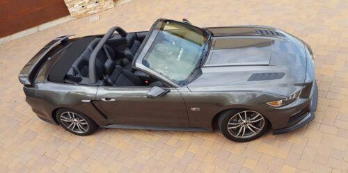 2015-2017 Ford Mustang Convertible Black Mamba Rear Trunk Spoiler Wing Unpainted