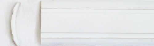 50 Meter Leistenfüller  Gummiprofil  Einlegeband  12 mm weiss