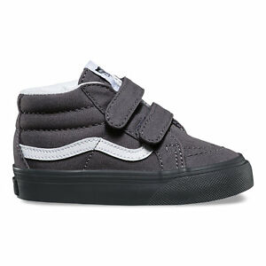 f968a7502619 Vans SK8-Mid Reissue V (MONO) ASPHALT Toddlers Shoes New In Box ...