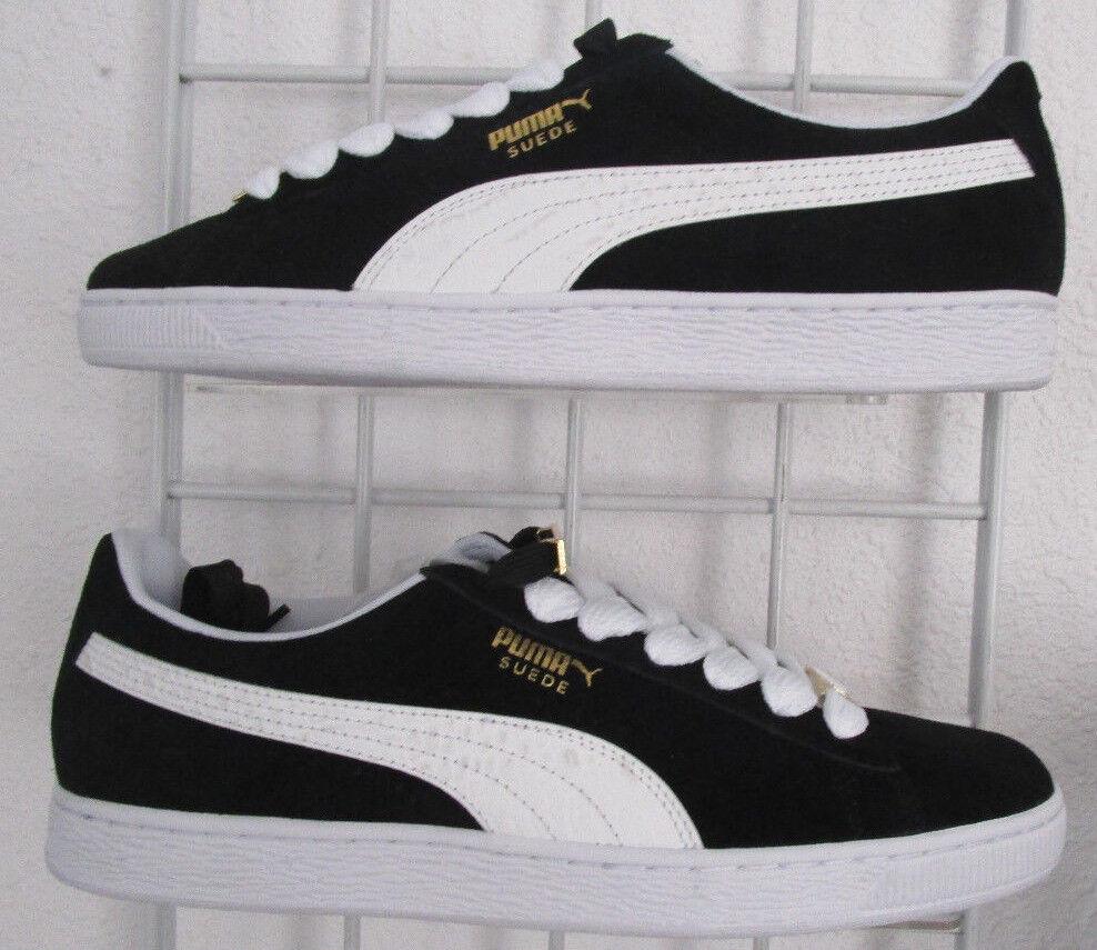 Men's Puma Suede Classic BBOY Fabulous Sneakers, New Blk blanc Walking chaussures 11