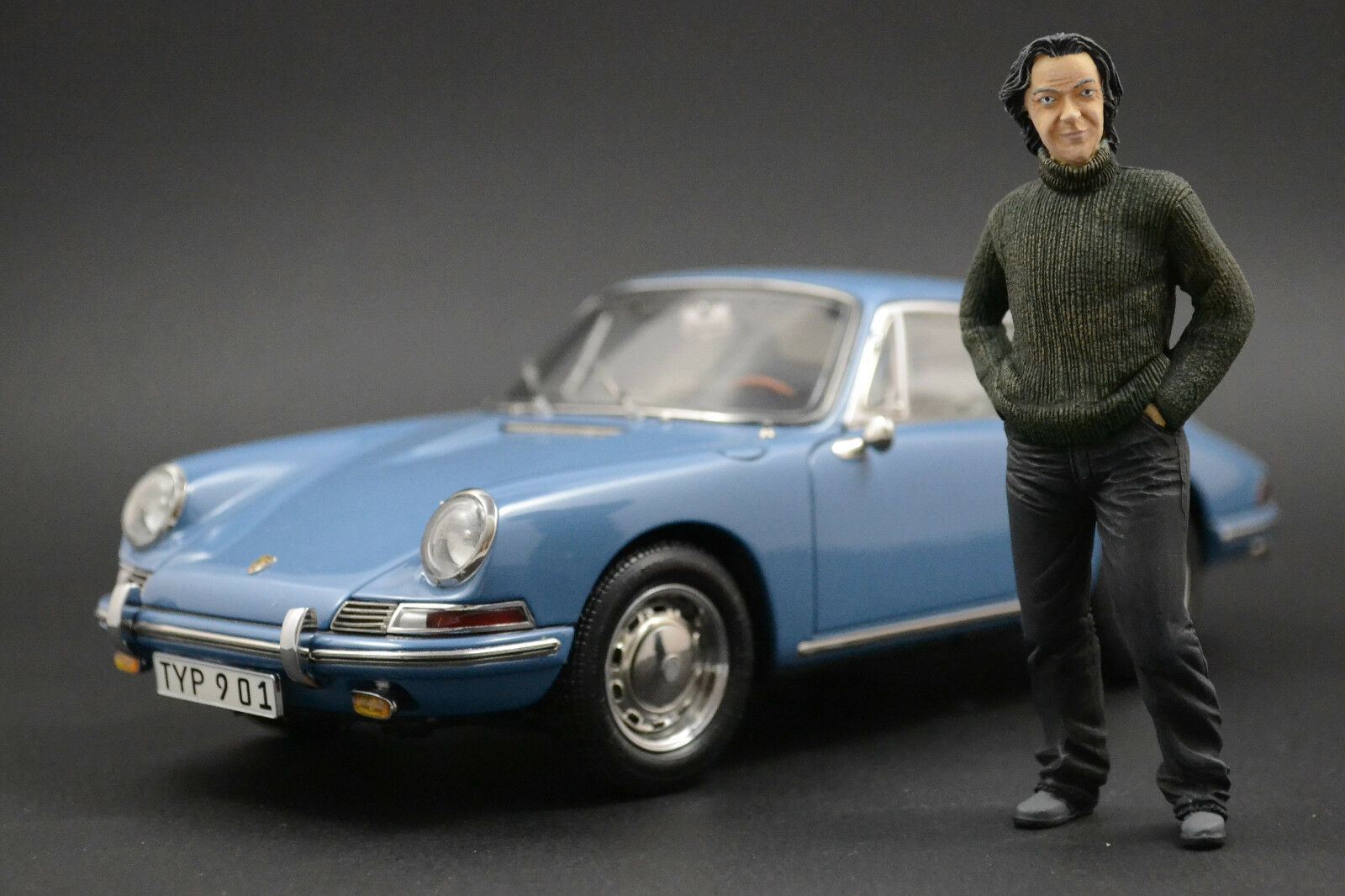 James May Figura per 1 18 Porsche 911 voiturerera AUTOart