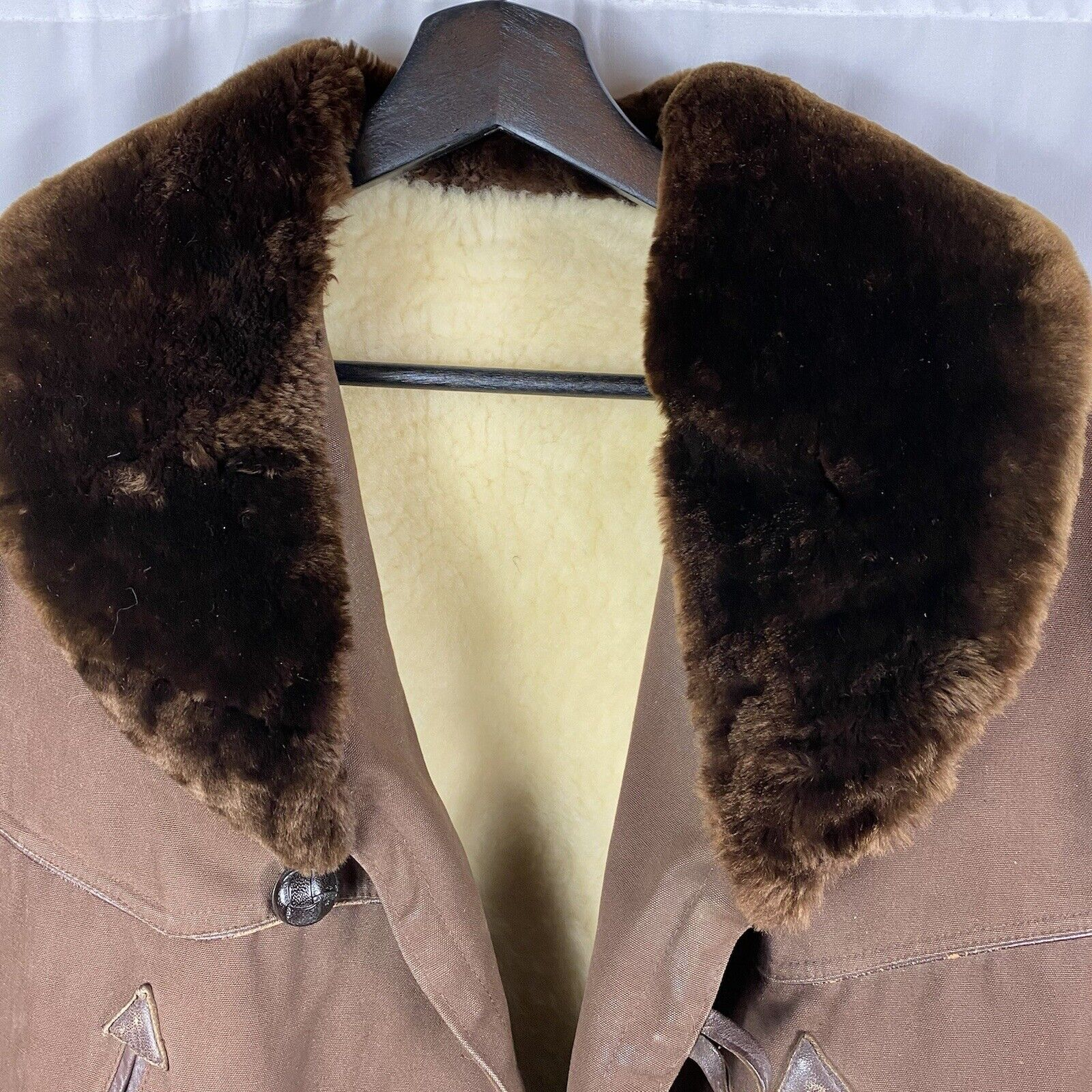 Vintage 1950s French Workwear Canadian Winter Jac… - image 2