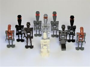 NEW-LEGO-STAR-WARS-Lot-of-10-Droid-Minifigures-from-Various-Sets-LOOK-C23