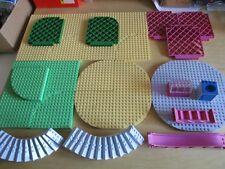 LEGO Belville Untergrundplatten, Rutsche, Treppe, Gitter, etc.