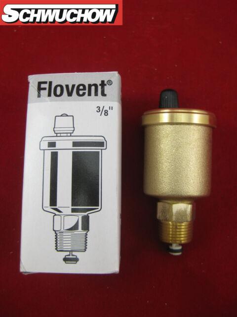 """Flamco Flovent Automático Aireador Rápido con Válvula de Cierre 3/8"""" Sistema"""