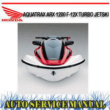 f12x r12x honda aquatrax turbo complete jet pump impeller very low rh ebay com au Helm Service Manuals Honda Honda Lawn Mower Service Manuals
