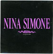 "NINA SIMONE It's Cold Out Here (single edit) 1989 7"" new unplayed Arthur Adams"