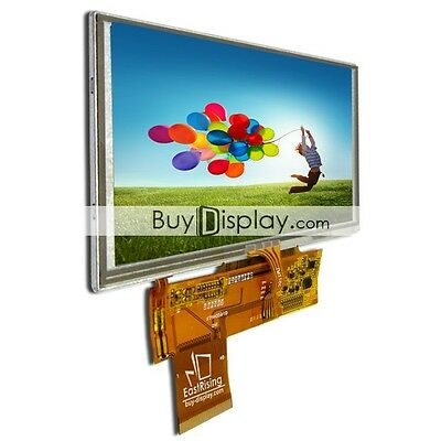 "5"" 5 inch WVGA 800x480 TFT LCD Display w/Optional Touch Panel or MP4,GPS,Car"