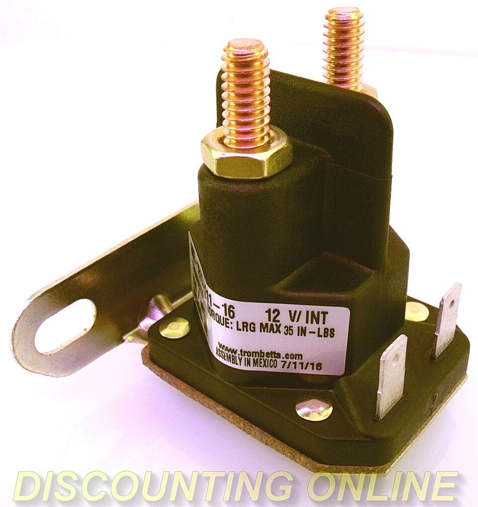 Details about PREMIUM STARTER SOLENOID FITS JOHN DEERE L LA X D 100 Series  Z-MOWERS AM138068